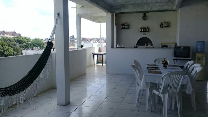 Kitinet confortável no Centro de Salvador