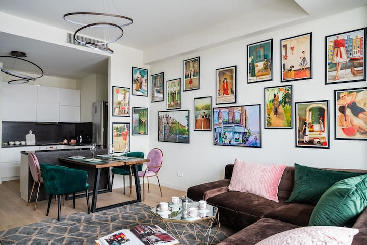 Art House apartment next to Moscow City