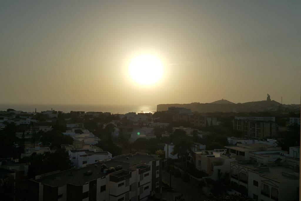 Bel appartement vue sur mer fen tre mermoz apartments for Fenetre mermoz dakar