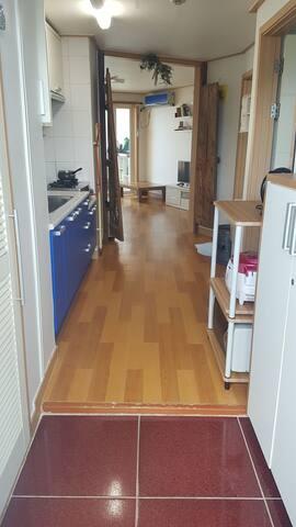 포항 월포해수욕장 집같이 편안하고 깨끗한 쉐어하우스 연인,가족숙소