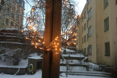 Nice and cosy apartment in the Södermalm - Stockholm - Bed & Breakfast