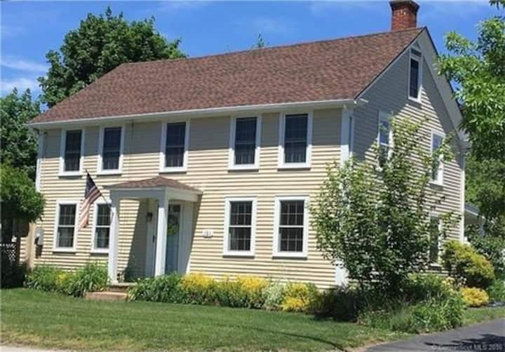 Cozy New England colonial,  right on the coast!