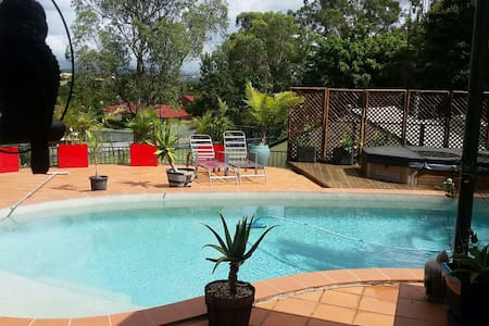 Central Gold Coast 2 Acre Luxury! - Parkwood - Dom