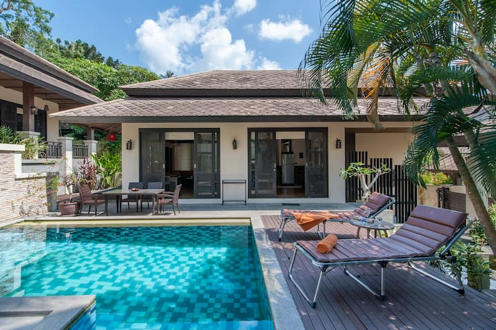 Private Thai Style 3bed close to Maenam Beach