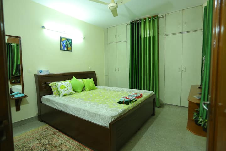 A 1BHK Cosy (& Sanitized) Home with a Terrace