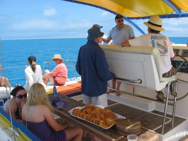 Good times on the High Seas !