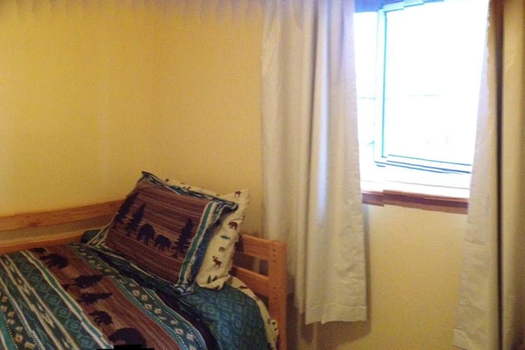 This is the room you will stay in.