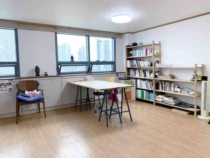 Studio near SKKU/Sungshin/Korea University(35m2)