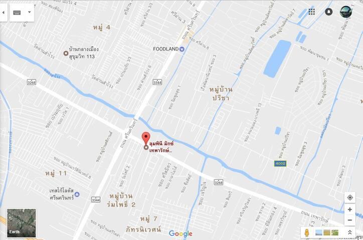 The Best Price Room near Suvarnabhum Airport - Tambon Sam Rong Nua - Apartment