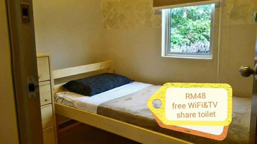 Room G - Single Room 单人床房