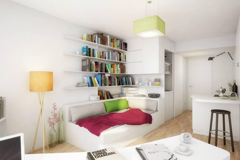 Das Apartment (1 Person)