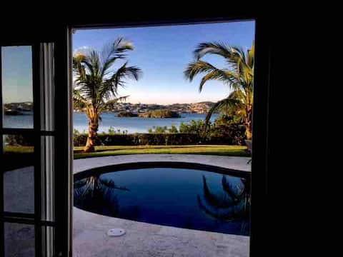 Romantic, Ocean and Pool View
