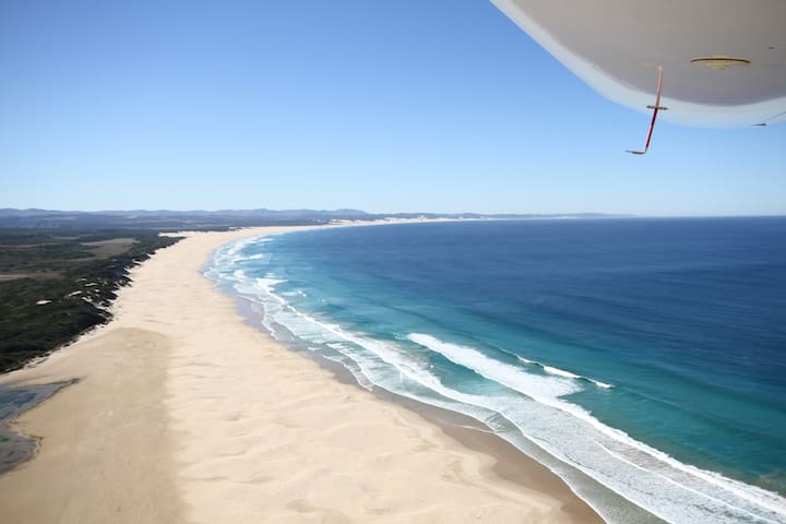 Beautiful  Kabeljous beach in Jeffreys Bay.