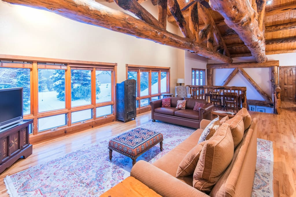 Plenty of natural light, tasteful decor, and gorgeous views are just a few of the advantages of staying in this home.
