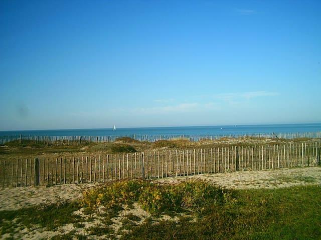 Grande maison sur la plage - La Turballe - Rumah