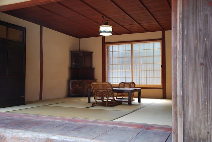 一泊二食付き 山と川に囲まれた古民家でゆったりのんびり時間 - Otsu
