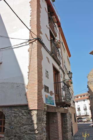 Casa rural La Fuente de Arnedillo Hab. 1 - Arnedillo - Ház