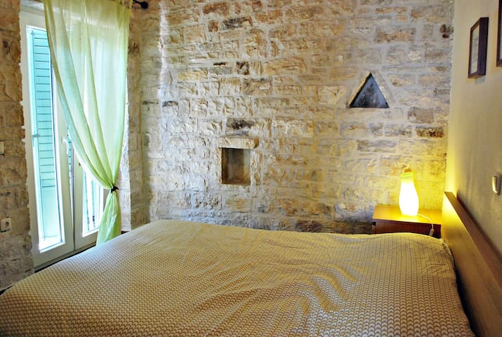 myPaxos Villa - Second Bedroom with double bed