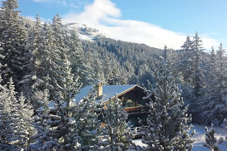 Ski-In-Ski-Out Swiss Chalet - Lens - Casa