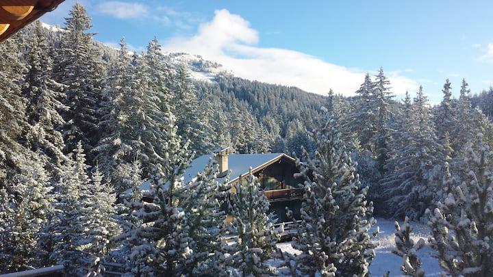 Ski-In-Ski-Out Chalet Crans-Montana
