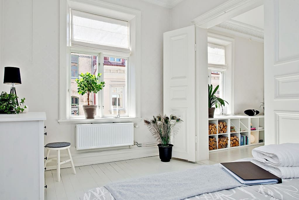 Wake up and enjoy the amazing light from the windows