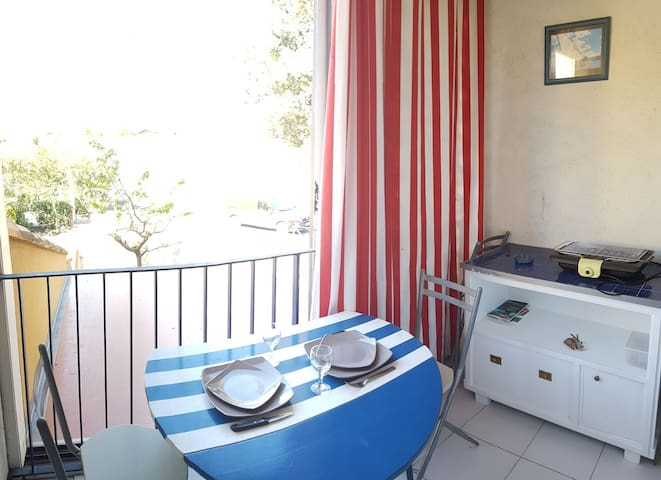 Appartement T2, 4 couchages, NARBONNE-PLAGE