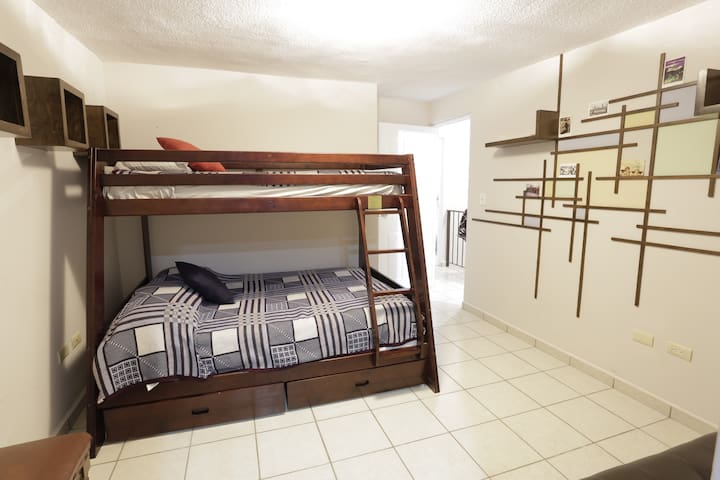 Big Bedroom. Bunk bed. Shared House