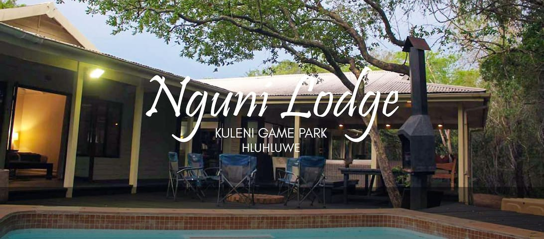 Nguni Lodge 10 sleeper lodge