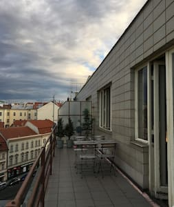 Room in the heart of Prague ( with terrace)