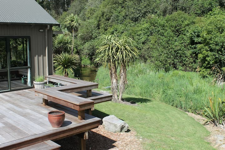Paradise Homestay on the trout stream - Ngongotaha Valley - Maison