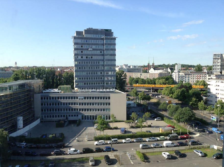 Panoramic views of south Berlin