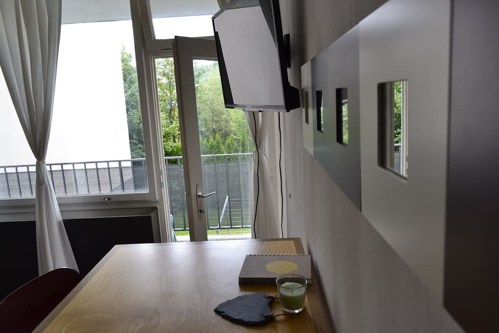 TV, Balcony, Bed Size 140x200,