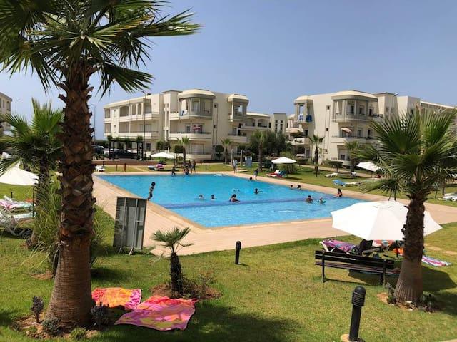 Appartement 122m² vue sur mer : Bahia Golf Beach
