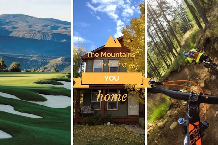 The Mountains Are Calling You Home To Relax!!! - Eagle - Huis