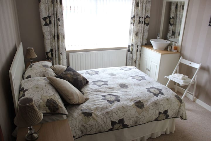 A double room available within a central location