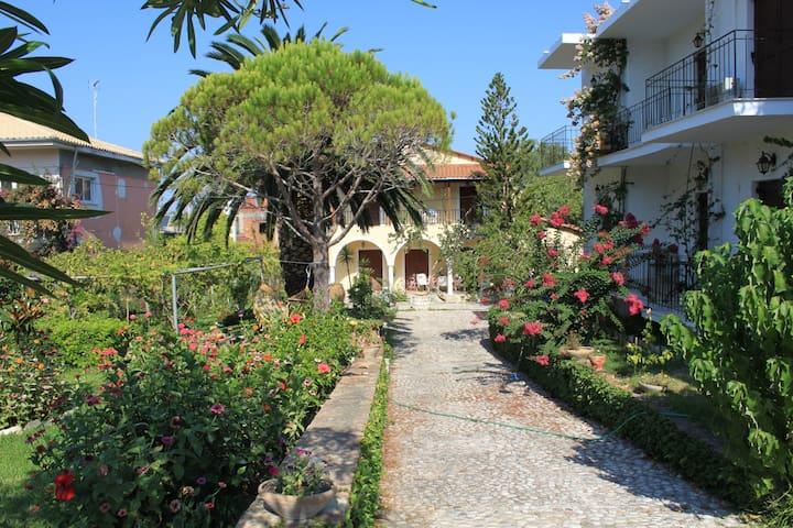 Garden in Arillas Studios