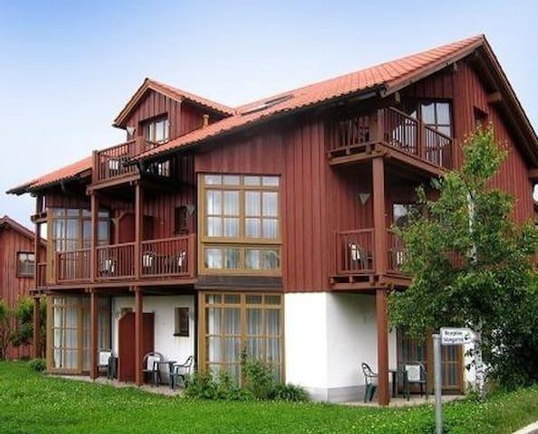 Ferienapartment Glasgarten Wutzschleife (25 m2) - Ferienwohnung Rötz
