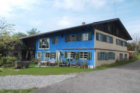 Gemütliche Wohnung in Allgäuer Hof - Altusried - Daire