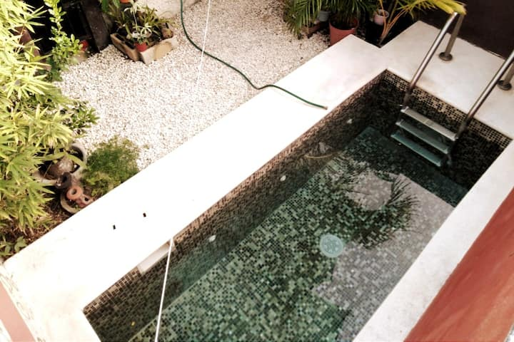 ⌲Stay as long as you want, pool, wifi, quiet, nice