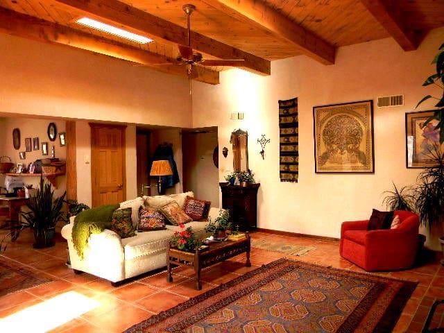 Peaceful Santa Fe Oasis (1 or 2 bedrooms)
