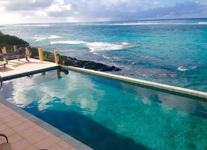 Very Private Ocean Front Villa