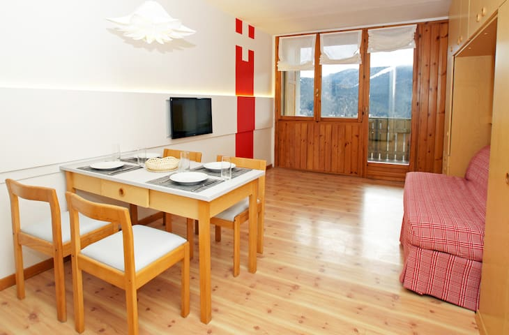 Panorama da cartolina in Trentino - Folgaria - Appartement