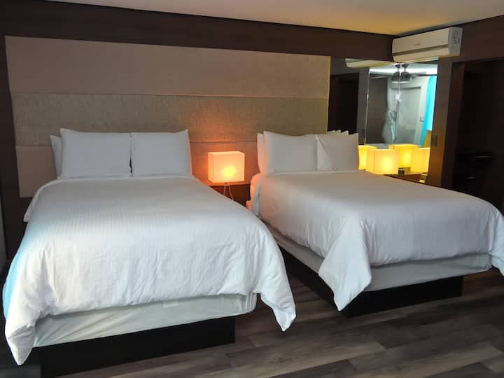 Deco Boutique Hotel, Executive, two Double beds