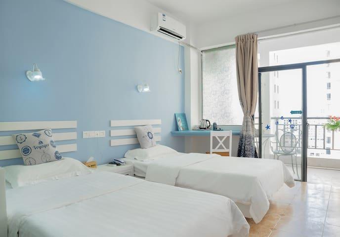 浪漫邮轮双床房 - Sanya - Guesthouse