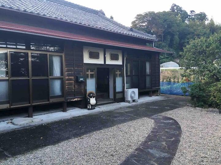 【和室8畳+8畳+6畳】福島県楢葉町にある築70年の古民家。この地域の暮らしを多様な交流を通して知る