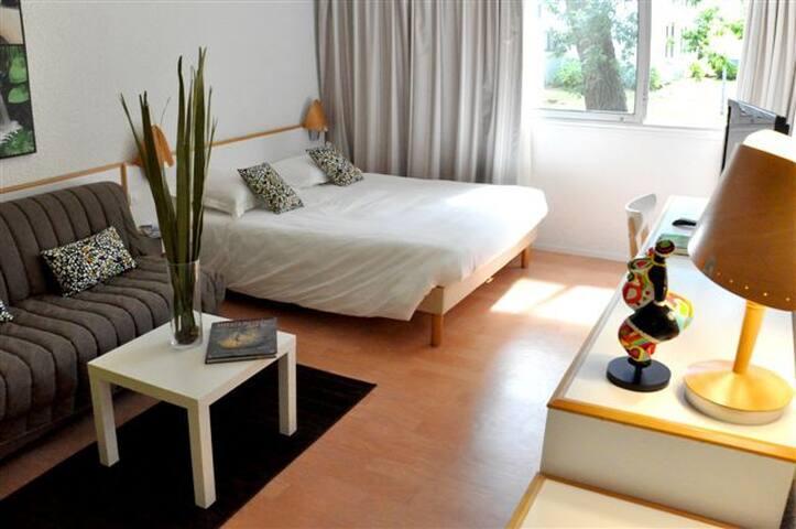 Studio 25m² en résidence hôtelière
