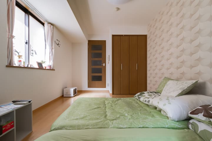 NEWOPE JR TURUHASI 2beds Nanba&5-minute train ride - Tennoji Ward, Osaka - Appartement