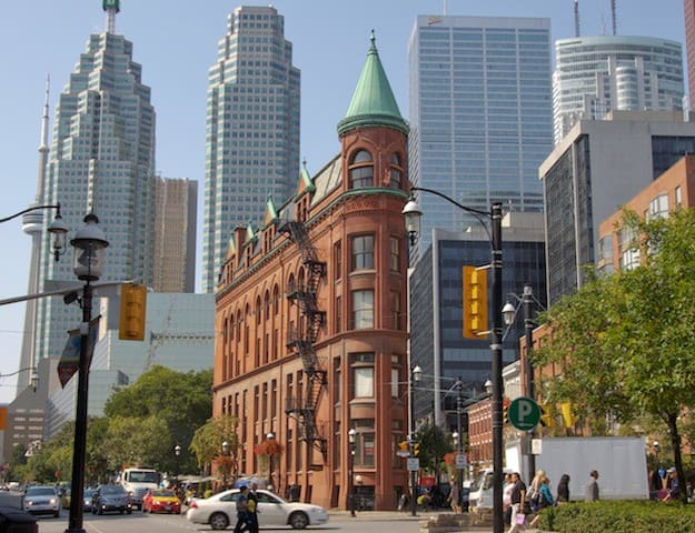Toronto is a delightful mix of old and new, large and small. Best of all it's friendly and you can feel safe wherever you go!