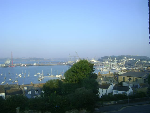 Lovely Single Room & Stunning Views - Falmouth - Haus
