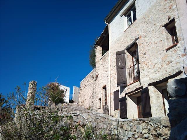 Riviera views, house with terrace - Saint-Jeannet - Casa